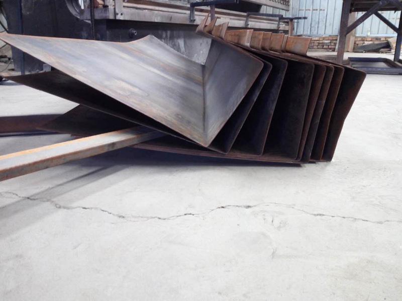 兰州大型剪板折弯加工厂提供优质的地磅U型梁 兰州天沟