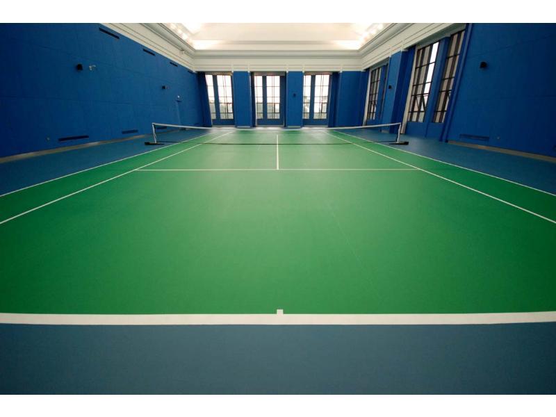 南安運動地坪定制|PVC運動地坪當然選保地達地坪
