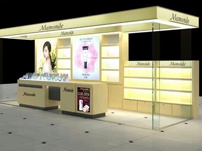甘肅化妝品展柜定制-蘭州化妝品展柜制作公司
