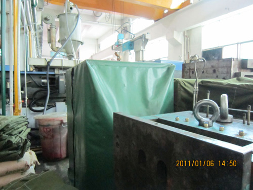 機械布罩廠家-福建銷量好的帆布防塵防雨罩