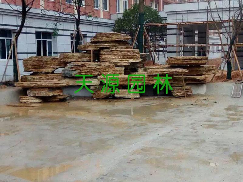 甘肃生态园设计施工_兰州假山厂家推荐