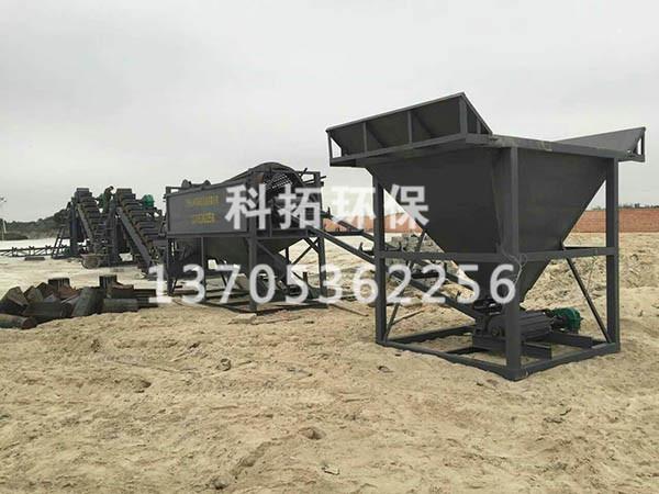 海沙淡化机械【技术精湛】处理海沙设备,清洗海沙生产线