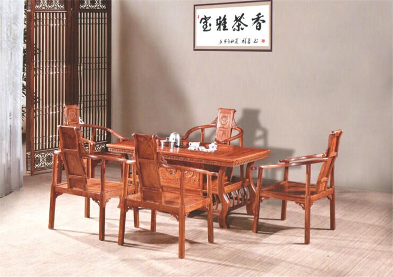 買高質量萬江紅木茶臺找鴻福堂古典紅木家具,東莞萬江紅木茶臺