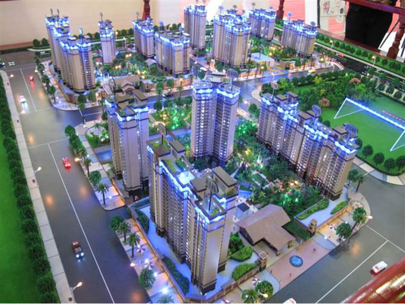 白银建筑模型|筑影沙盘_可靠的建筑模型公司
