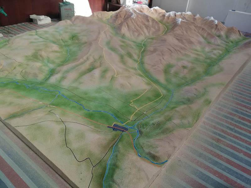 临夏军事地形模型|筑影沙盘价格划算的军事地形沙盘供应