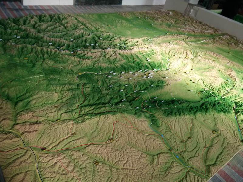 張掖軍事地形沙盤設計哪家好-大量供應高品質的軍事地形沙盤
