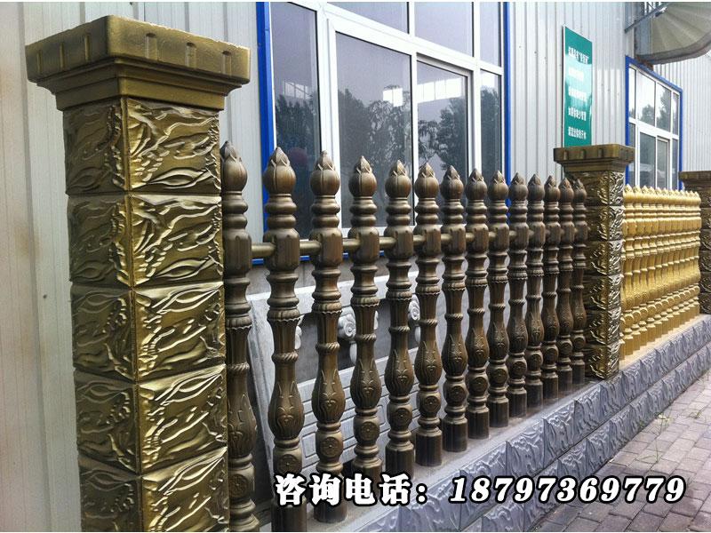 西宁仿木护栏 优惠的仿木围栏赏艺水泥制品公司供应