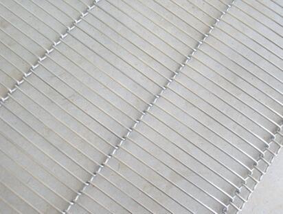 供应华康金属网带好的不锈钢乙字网带-不锈钢乙字网带 生产厂家