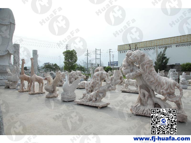 神獸石雕供應廠家-買石雕@華發石雕就來華發石雕