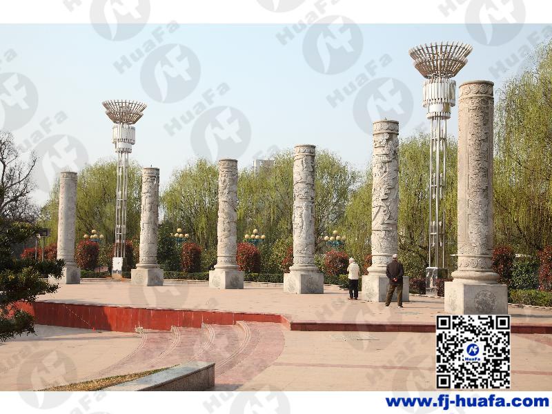 福建精雕细琢的石雕龙柱推荐-龙柱价格