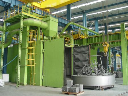 钢管内壁抛丸机生产厂家-专业抛丸机厂家在山东