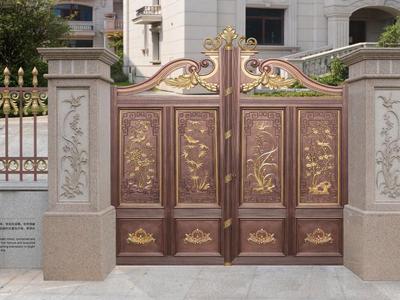 买好的别墅庭院门就来固瑞特建材,兰州别墅庭院门价格