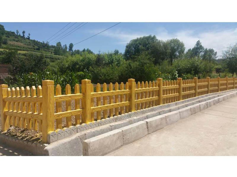 青海仿木护栏|兰州仿木护栏安装|水泥仿木护栏-优选丝路环保