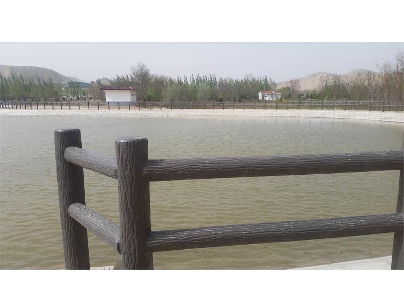 甘肅河堤護欄|蘭州河堤護欄廠家-優選甘肅絲路園林景觀