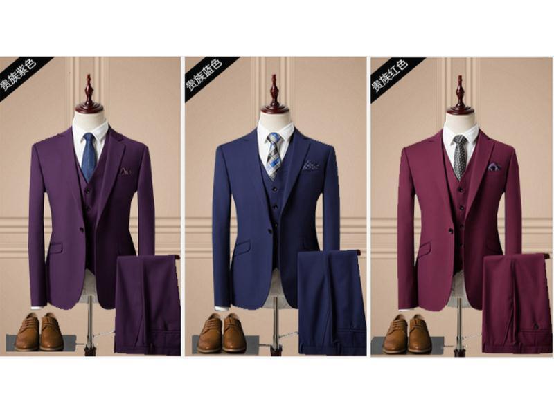 泉州制服定制-泉州各类样式男式西装批发出售