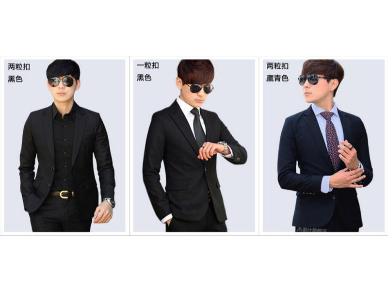 泉州款式新颖的男式西装批发出售——福州男式西装