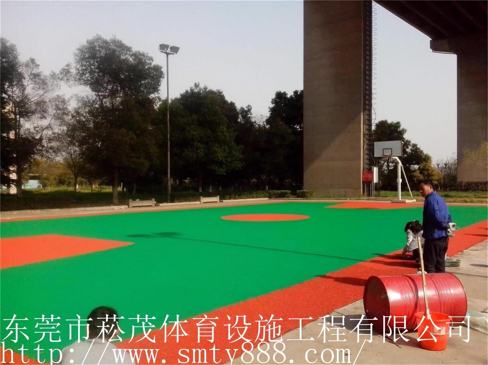 北京塑膠籃球場_東莞優良塑膠籃球場