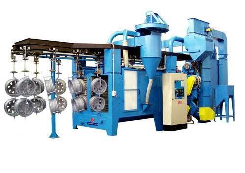山东H型钢抛丸清理机-潍坊高质量的Q37系列吊钩式抛丸清理机_厂家直销