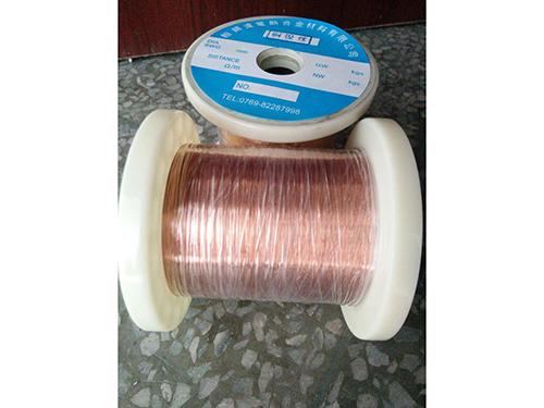 新品铜镍丝市场价格——珠海铜镍丝厂家