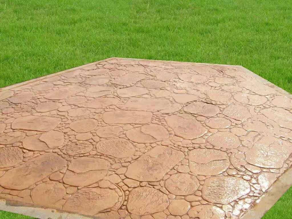 在哪能够买到优质压花地面地坪——莆田压花地面地坪