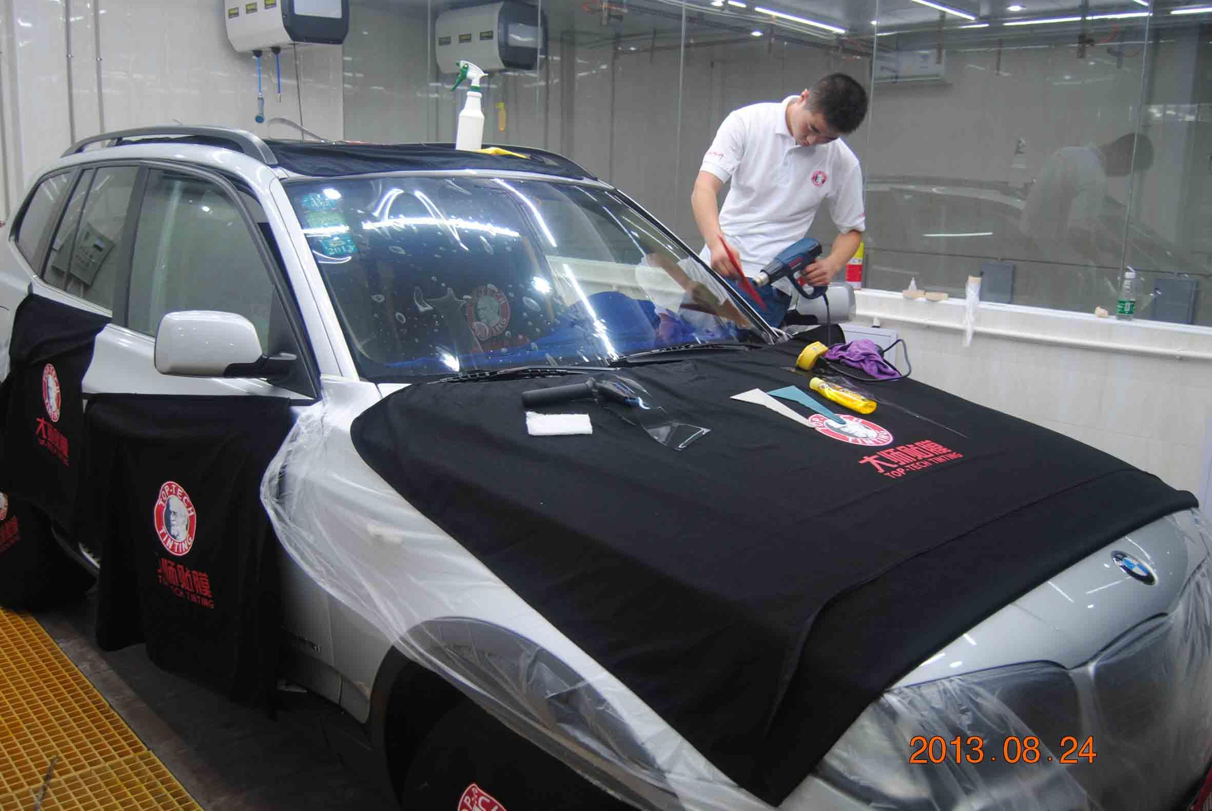 佛山汽车贴膜,正航汽车维修供应服务周到的汽车贴膜