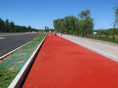 甘南彩色防滑路面|蘭州彩色防滑路面批發供應