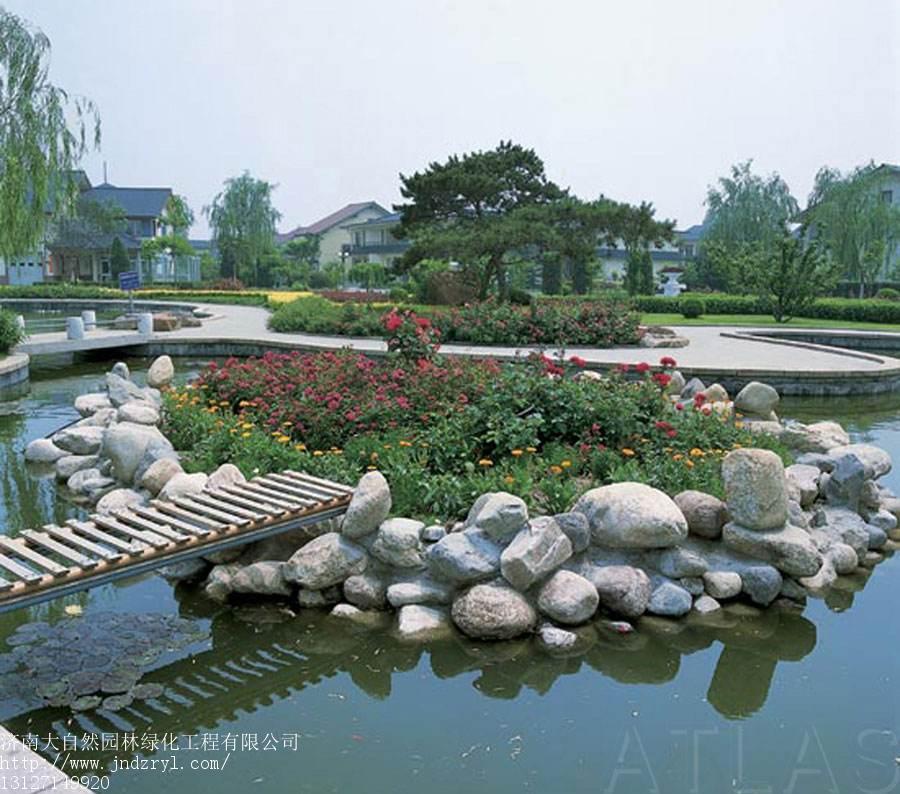 靠谱的园林绿化优选大自然园林绿化 小区园林