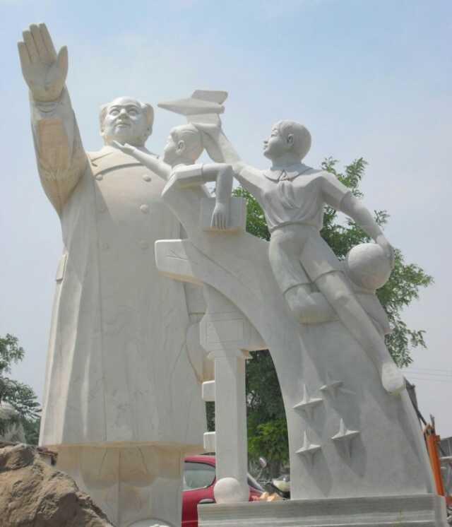 普洱石雕厂|昆明哪家毛泽东雕塑加工厂好