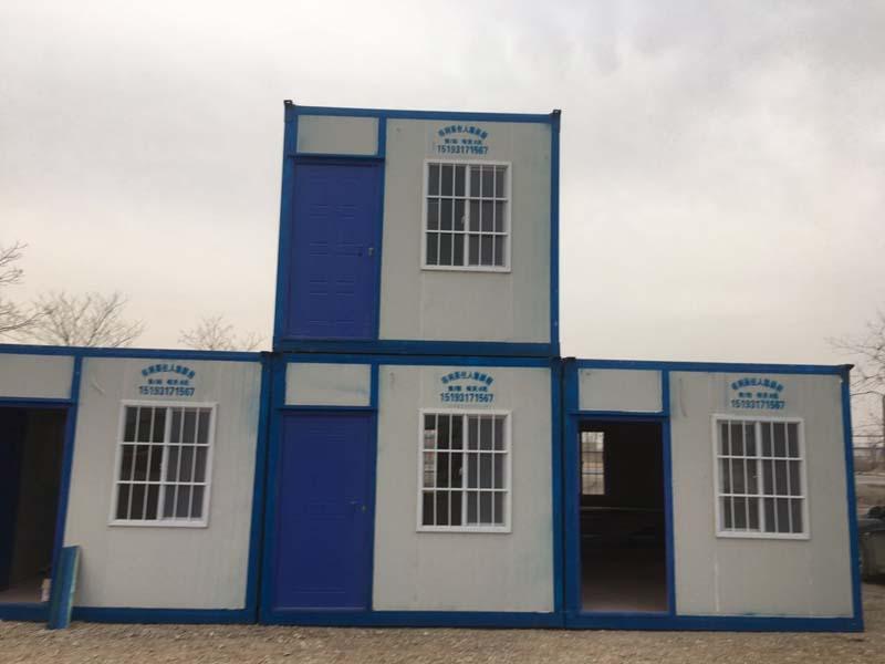 甘肃集装箱_甘肃得利莱集装箱移动板房提供优良的住人集装箱