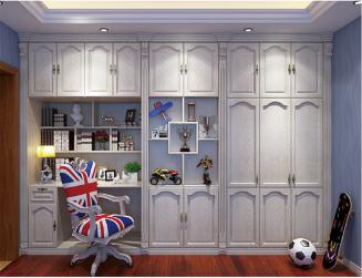 现代推拉门衣柜,供应莆田利豪旺建材口碑好的欧式衣柜