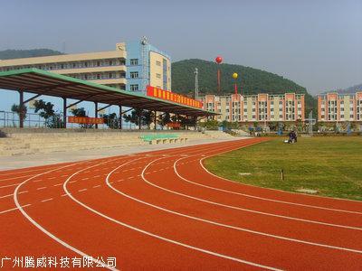 广州哪里有供应质量好的PU跑道材料_硅PU球场跑道批发