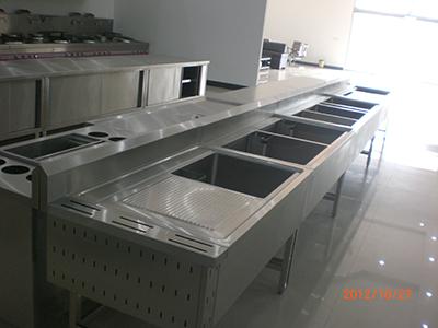 甘肃酒店用品厂家——价格公道的不锈钢厨房设备就在甘肃海斯特不锈钢制品
