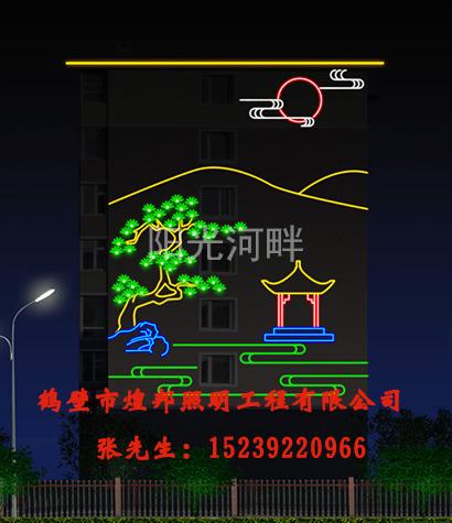 LED墙体壁画如何保持较长使用寿命_云南LED墙体壁画灯