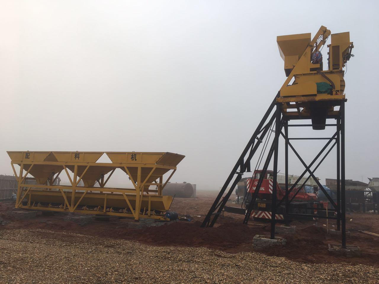 混凝土搅拌站-大量供应好的半自动混凝土搅拌站