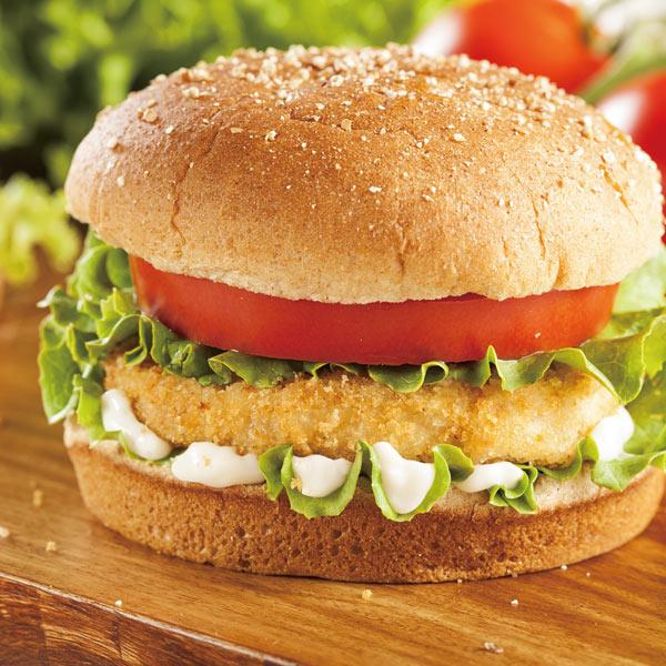 平凉炸鸡汉堡|兰州价格合理的炸鸡汉堡批售