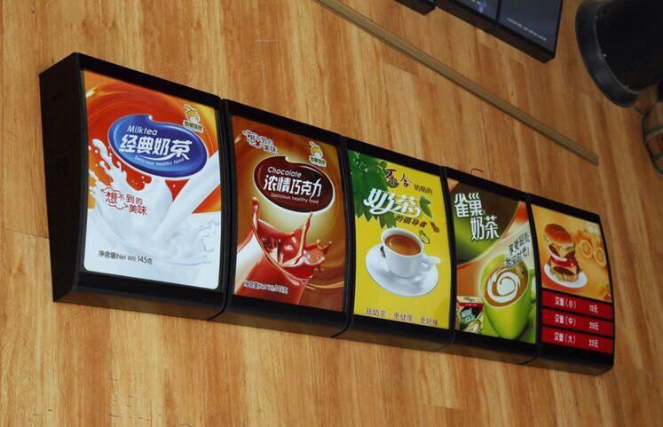 厦门彩色灯箱,买大型户外吸塑灯箱就来莆田卓越广告传媒