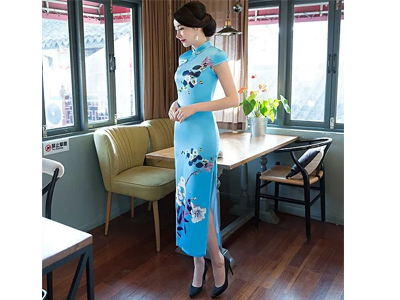 信誉好的旗袍厂家 优质的旗袍