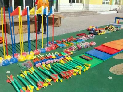 蘭州幼兒園設施_哪里有銷售價格合理的幼兒軟式器材