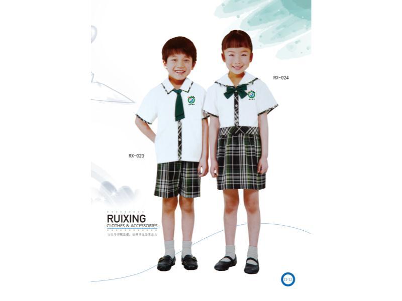 上海中小學夏季校服生產批發-好看的夏季校服要到哪兒買