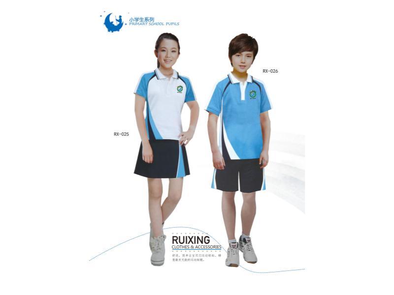 夏季校服型號|想買物超所值的夏季校服,就到睿星服裝