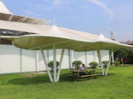 内蒙自行车棚膜结构-膜结构专业制造厂家