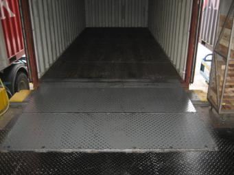 山西固定式液压登车桥 选好的固定式液压登车桥就到容大机械