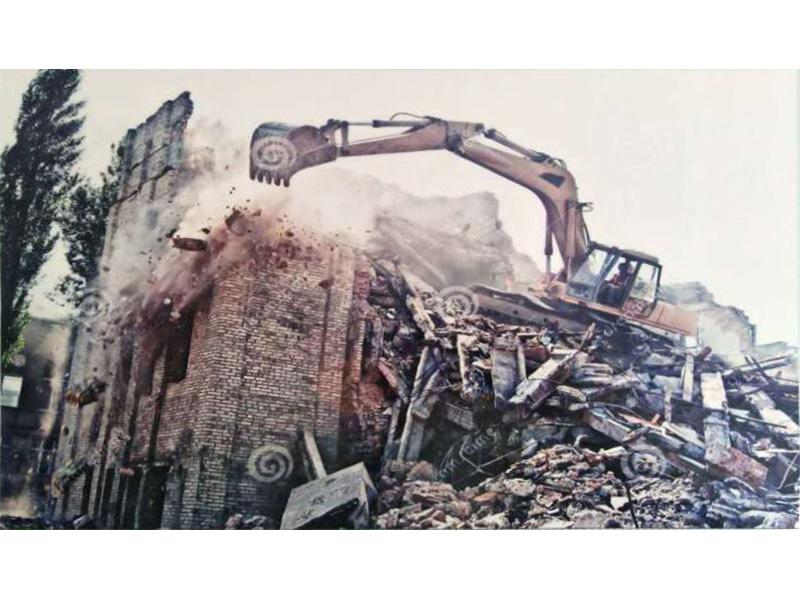 兰州房屋拆除