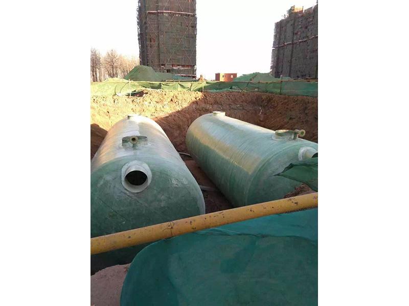 內蒙古玻璃鋼化糞池廠家|甘肅開創_玻璃鋼化糞池定制生產