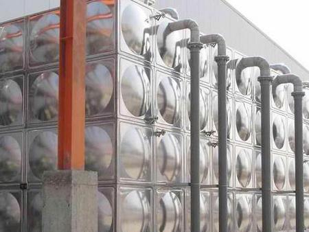 不锈钢消防水箱突出圆包有什么作用?【三栋】