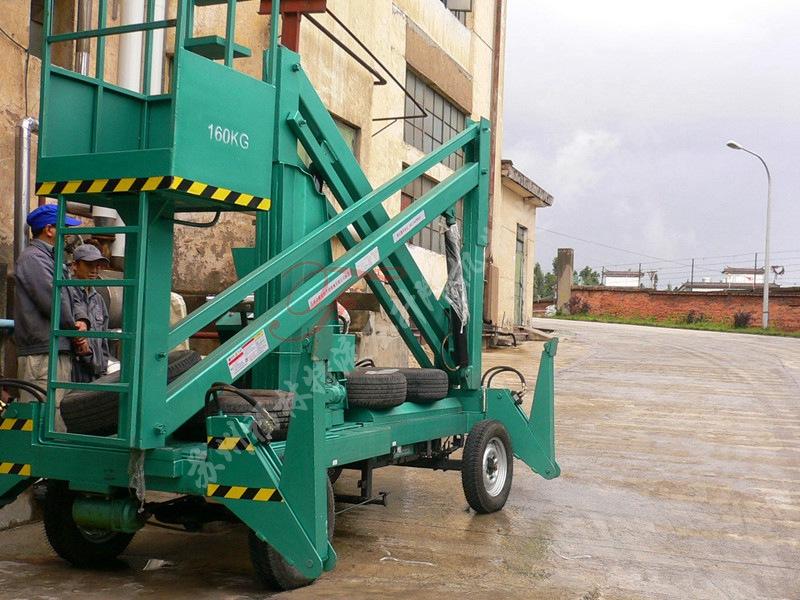 福林特液压升降机提供有品质的杭州电动升降机_曲臂式升降机