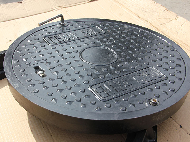 山东批发SMC圆形树脂井盖厂家 树脂井盖特点 尺寸齐全可定