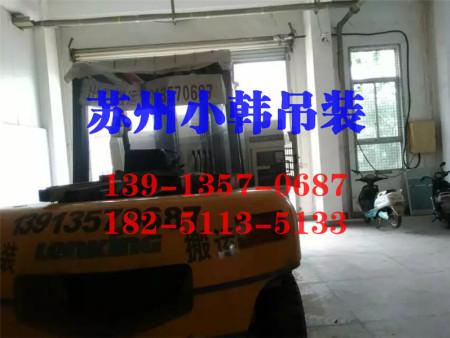 北桥设备装卸-苏州信誉好的苏州设备搬运吊装公司