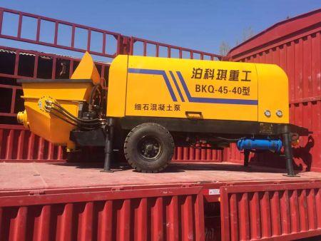 河北细石混凝土输送泵厂家