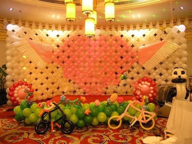 胶南十一气球装饰|青岛国庆节气球供应商推荐